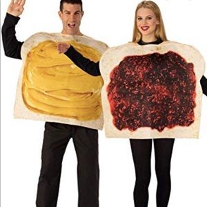 Peanut Butter and Jelly Couples Costume 1858